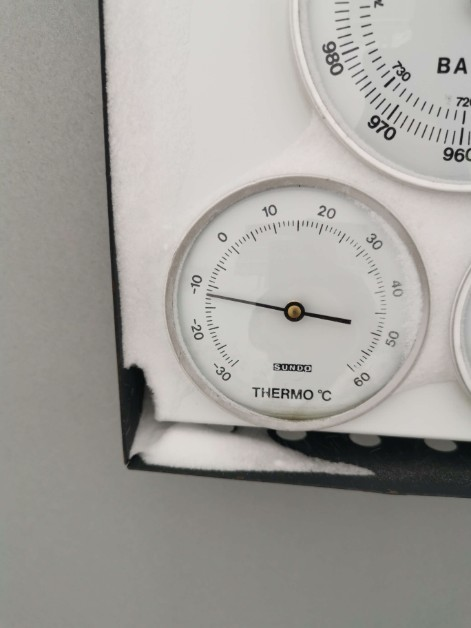 Temperature - 12 °C